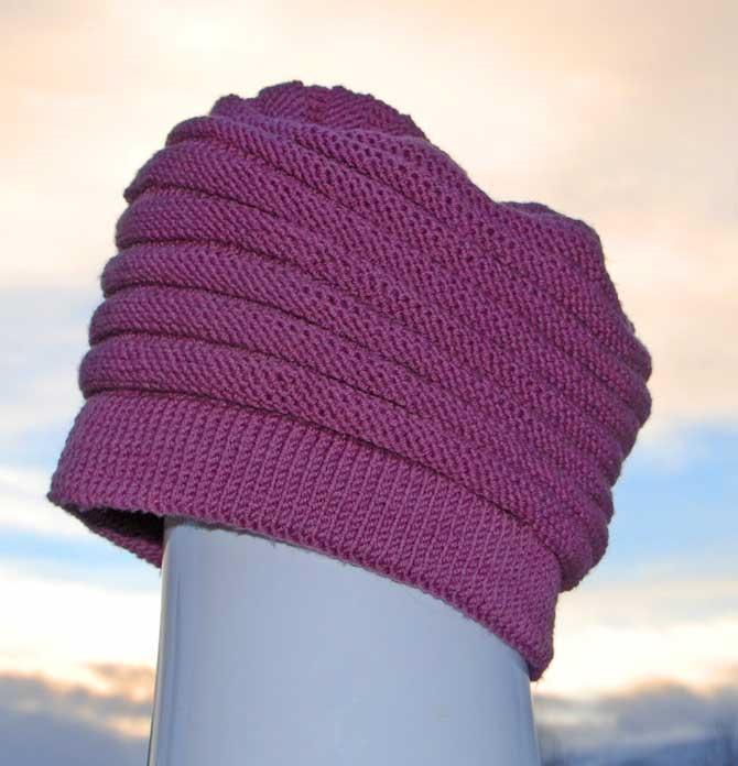 strikke votter oppskrift enkel